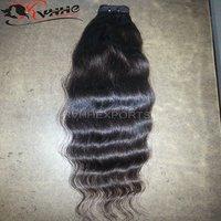 Body Wavy Indian Weave Human Natural Indian Hair