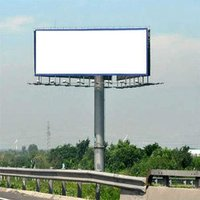 Multicolor Outdoor Hoarding Flex Banner
