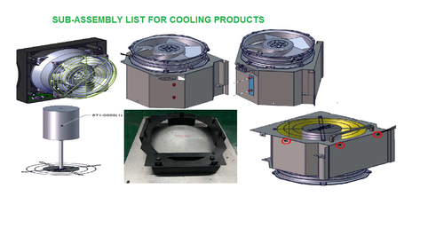 Sub Assembly For Cooling Fan
