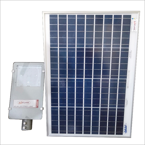 Solar Semi Integrated Street Light