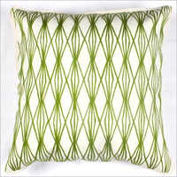 Geometrical Embroidered Cushion Cover
