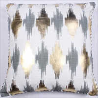Foil Printed Cushion Cover