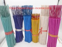 Colorful High Quality Indian Incense Sticks