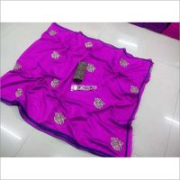 Embroidery loving parrot silk sarees6