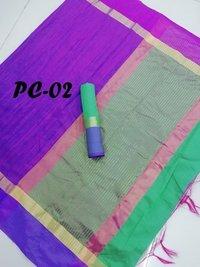 new printed cotton saree
