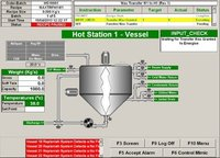 scada designing in batch processing