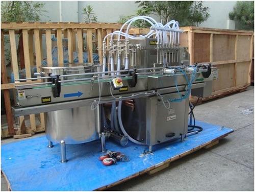 Automatic Eight Heads Liquid Detergent Filling Machine