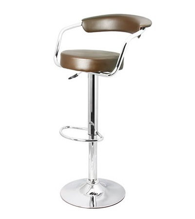 Zent Chrome Bar Stool