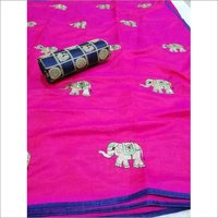 New elephant silk sarees