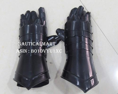 NAUTICALMART Medieval Armor Steel Gauntlets