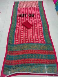 New Printed Saree
