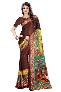 printed Bhagalpuri silk sarees