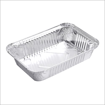 Rectangular Aluminum Foil Container