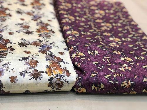 Digital Foil Printed Fabric