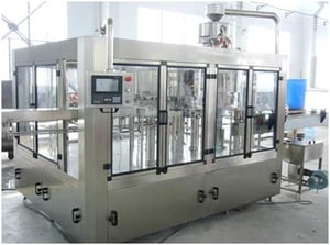 Automatic 24 BPM Rinsing, Filling and Capping Machine