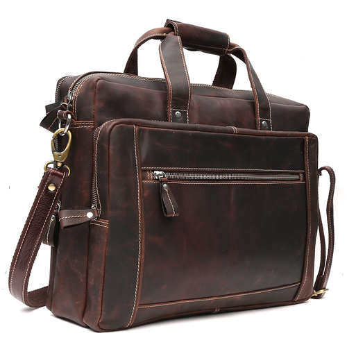 Leather Brown Laptop Bags