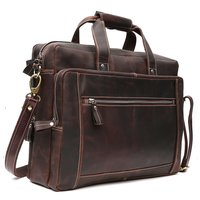 Leather Brown Laptop Bag