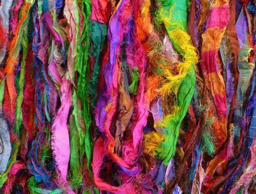 Silk Fabric Cutting Waste
