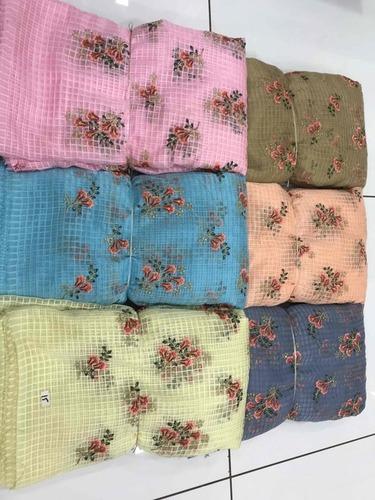 Banglori Silk Embroidery Fabric
