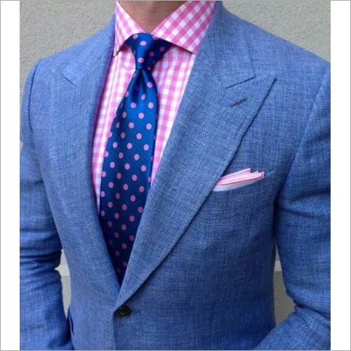 Mens Blue formal Suit