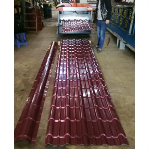 Bamboo Joint Roll Forming Machine