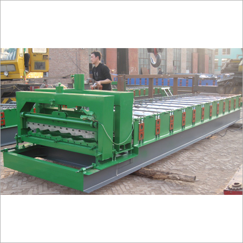 Circular ARC Glazed Tile Roll Forming Machine