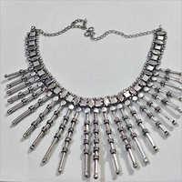 Costume Oxidized Metal Necklace