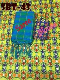 New Mirror silk saree