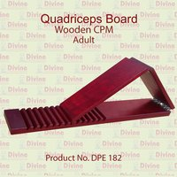 Quadriceps Board Wooden Adult