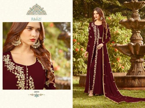 Latest Embroidered Anarkali Suit