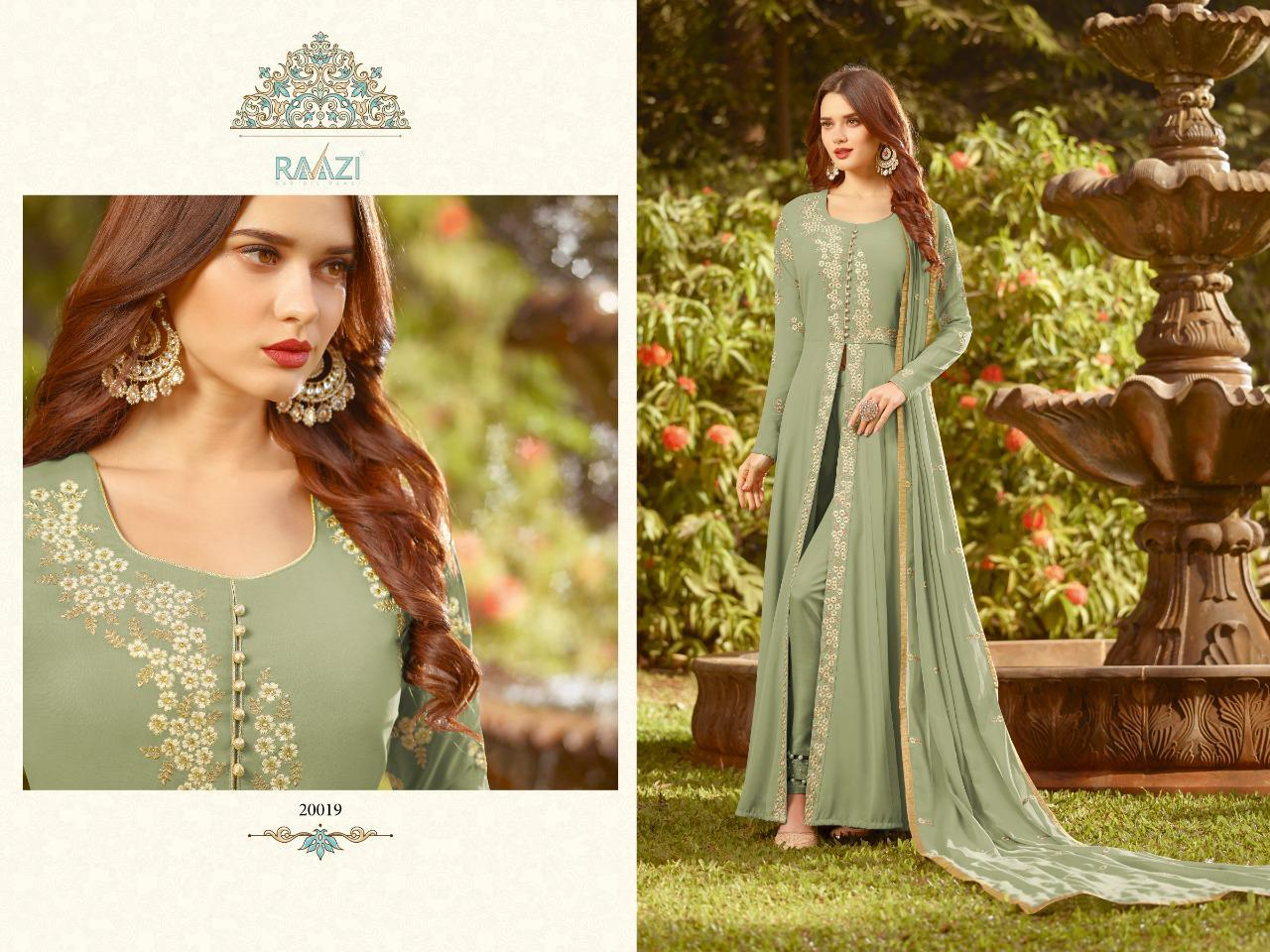 Latest Embroidered Anarkali Suit