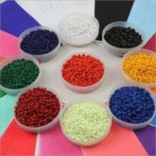 Multi Coloured Reprocessed Granule