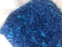 HDPE Blue Drum Grinding