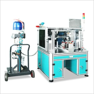 Industrial Robot with Assembly Line Equipment for Lamp and LED Light coating