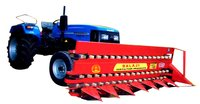 Tractor front reaper hydraulic cylinder