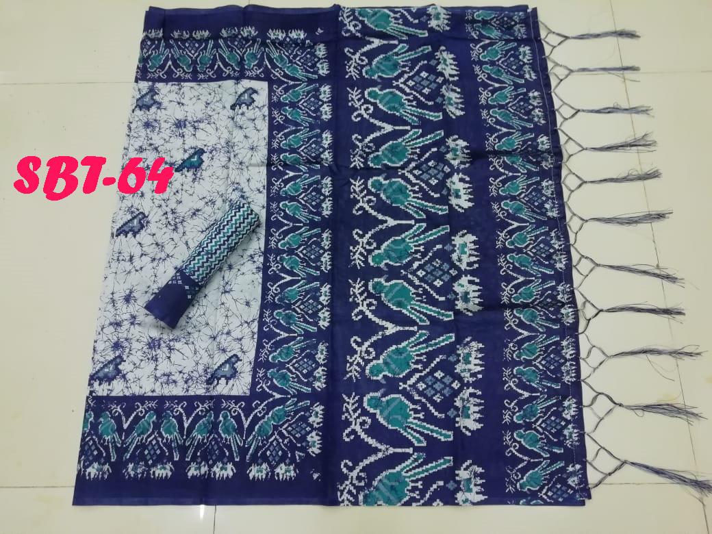 New  Printed silk saree