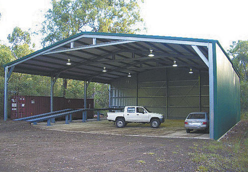 Steel Shed Structures