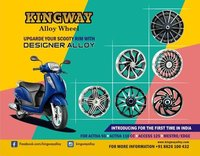Scooty Alloy Wheel