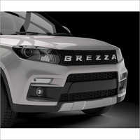 Brezza Alpha Grill Black Chrome