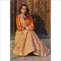 Ladies Designer Khadi Dress