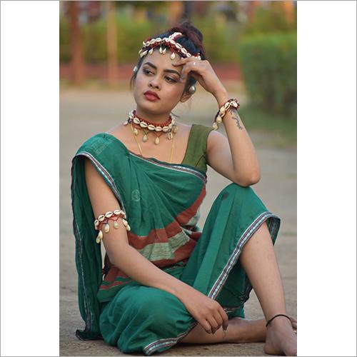 Hand Woven Khadi Saree