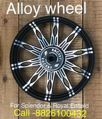 Alloy Wheels For Splendor & Royal Enfield