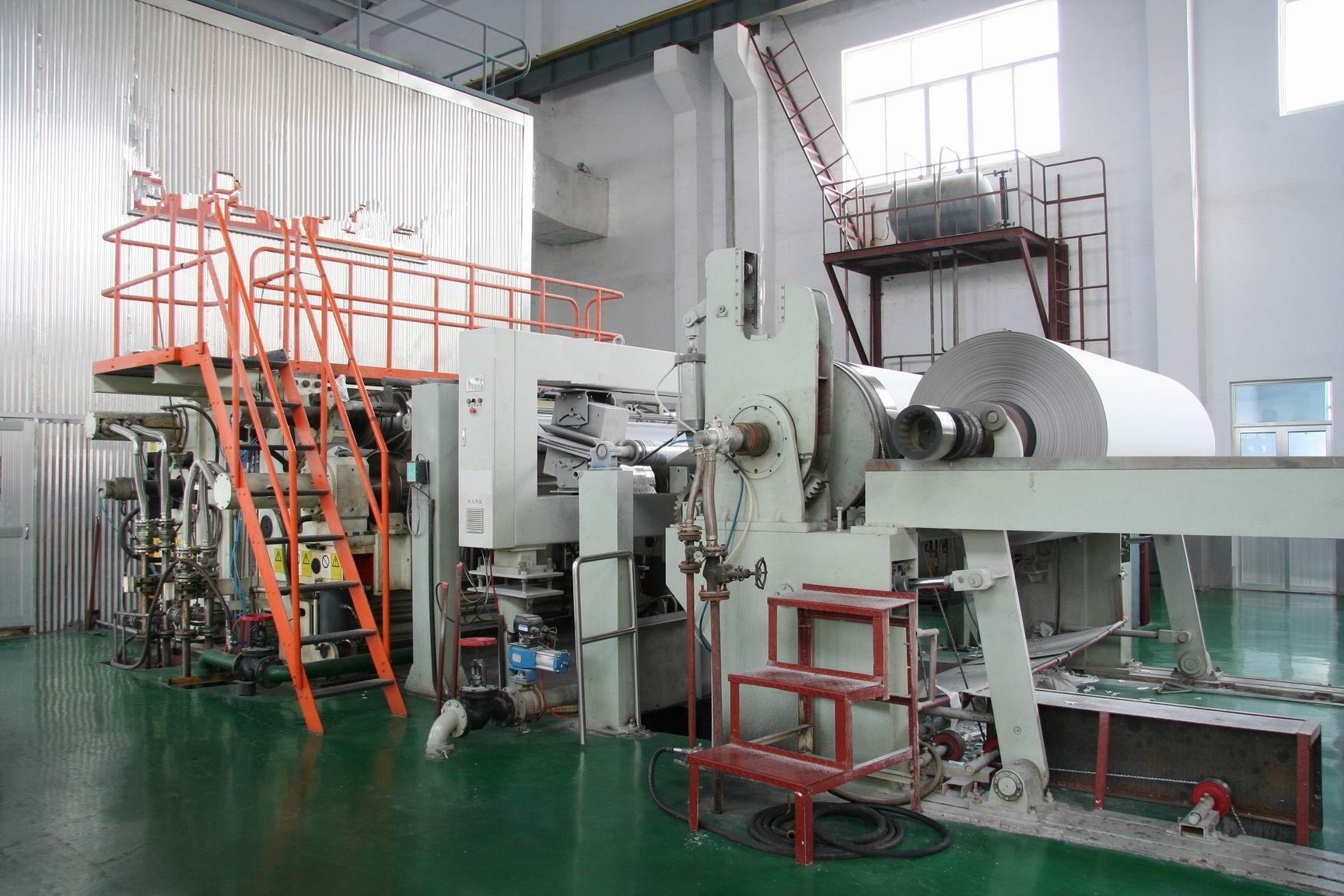 White Top Liner Coating Machine
