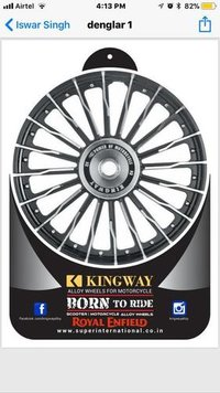 Designer Alloy Wheels For Royal Enfield