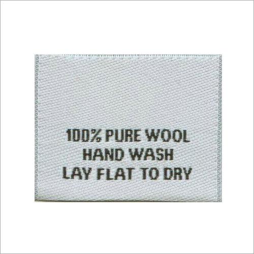 Cotton Garment Label