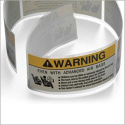 Warning Seal Label