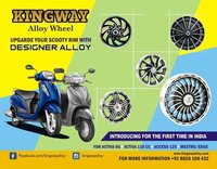 Designer Alloy Wheels For Scooty