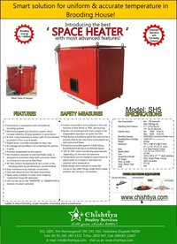 LPG SPACE HEATER (SEMI AUTOMATIC)