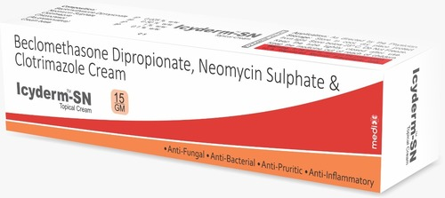 Beclomethasone  Dipropionate , Neomycin Sulphate & Clotrimazole Cream