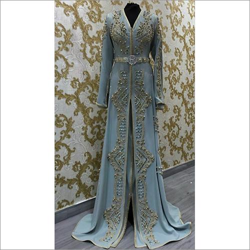 Embroidered Designer Western Dress